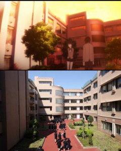 桜才学園校舎