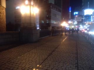 万世橋の歩道の蓋