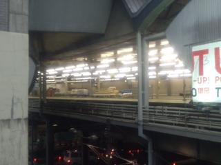 @渋谷駅ホーム跡
